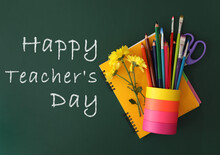 Text Happy Teacher's Day And S...