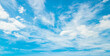 Abstract white cloud and blue sky in sunny day texture background