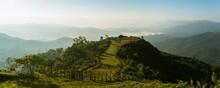 Panorama Of Beautiful Countrys...