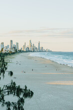 Surfers Paradise From North Burleigh Headland Portrait