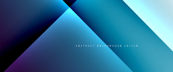 Fototapeta Boks Fluid gradients with dynamic diagonal lines abstract background. Bright colors with dynamic light and shadow effects. Vector wallpaper or poster