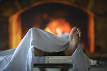 Crematorium Burning A Corpse, ...
