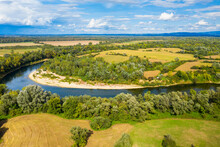 Aerial View Of The Una River I...
