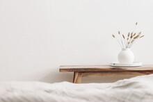 Modern White Ceramic Vase With...
