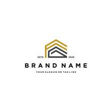 Letter FG Home Design Logo Concept