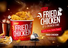 Fried Chicken Ad