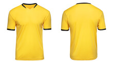Sports Football Uniforms Yello...