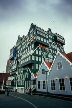 Zaandam Hotel Made Of Traditional Little Houses