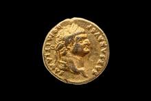 Roman Gold Aureus Replica Coin...