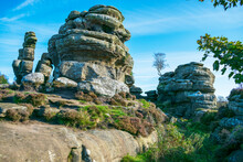 Brimham Rocks, Harrogate, Nort...