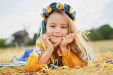 Girl In Traditional Ukrainian ...