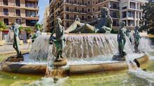 Turia Fountain In The Square O...