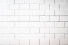 White Subway Tile Kitchen Wall...
