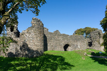 Old Inverlochy Castle Near Fort William In The Scottish Highlands