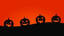 Vector, Fondo De Halloween Con...