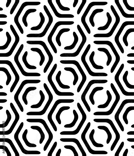 Okleiny na drzwi - Złudzenie optyczne  vector-geometric-seamless-pattern-modern-geometric-background-with-hexagonal-tiles