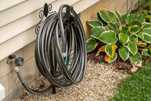 Hose Attached To An Outdoor Sp...