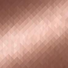 Rose Gold Mosaic Metallic Background