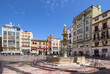 Constitution Plaza Malaga, Spain
