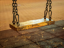 Close-up Photo Of A Swing On M...