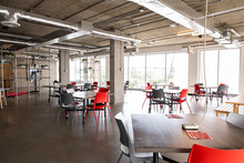 Coworking Space With Space Arr...