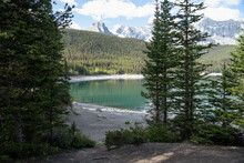 Scenic View Idyllic Mountain L...