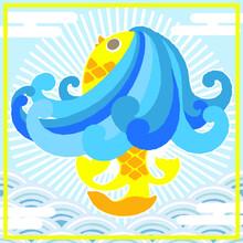 海, 動物, Manga, 水, 海, 青, かわいい, 自然, 文科系, 幸せな, , デザイン, くじ引き、dragon, Art, Abstract, China, Pattern, Animal, Illustration, Decoration, Floral, Fish, Blue, Color, Traditional, Painting, Thailand, Sea, Orname