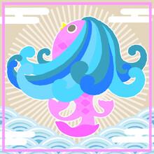 海, 動物, Manga, 水, 海, 青, かわいい, 自然, 文科系, 幸せな, , デザイン, くじ引き、dragon, Art, Abstract, China, Pattern, Animal, Illustration, Decoration, Floral, Fish, Blue, Color, Traditional, Painting, Thailand, Sea, Ornam