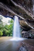 Saeng Chan Waterfall At Pha Ta...