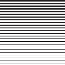 Horizontal Line Vector On A Wh...