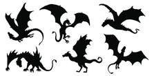 Dragon Silhouettes 2