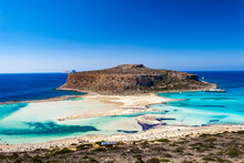 Balos Lagoon On Crete Island, ...