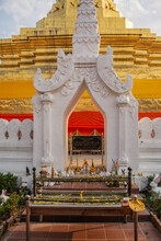 Within Wat Phra That Chae Haeng That Is A Royal Temple And An Ancient Sacred Temple To Worship Of Phu Piang District In Nan Province Of Thailand