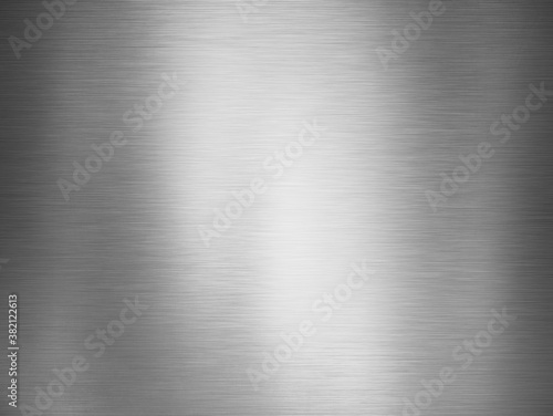 Fotografering polished metal background or texture stainless steel surface