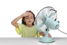 Little Girl Suffering From Hea...