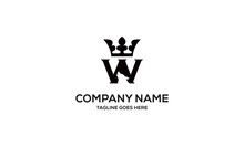 Letter W And Wolf Vector Logo Design Inspirations