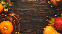 Thanksgiving Day Concept. Autu...