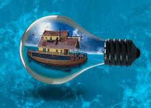 Ship In A Bulb