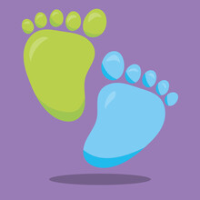 Baby Girl Foot