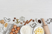 Ingredients For Baking Christm...