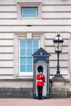 A Royal Guard Outside Buckingh...