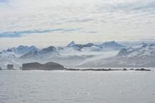 King Haakon Bay, Snow Covered ...