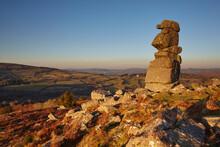 A Natural Granite Outcrop Seen...
