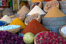 Colourful Display Of Spices In...