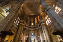 Interior Of Cathedral Of Malag...