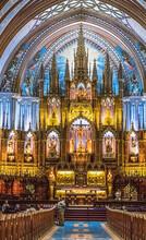 Notre-Dame Basilica Interior, ...