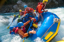 Rafters Capsize As They Go Thr...