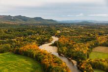 New England Aerial Landscape W...