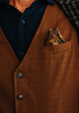 Details Of Stylish Man's Outfit