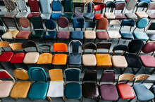 Vintage Chair Collection With Rows